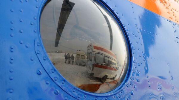 Работа санитарной авиации