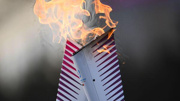 Эстафета огня Универсиады-2019 в Красноярске