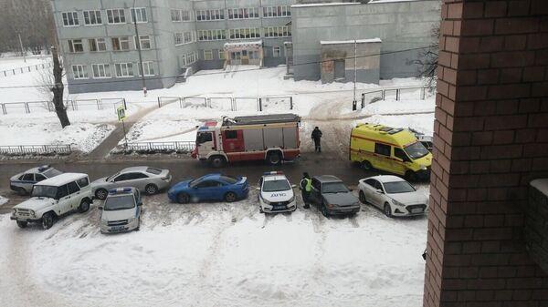 Ситуация на месте стрельбы в Нижнем Новгороде около школы № 121
