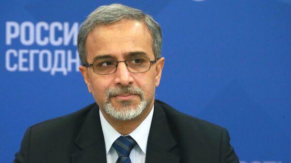 Чрезвычайный и Полномочный Посол Индии в России Бала Венкатеш Варма