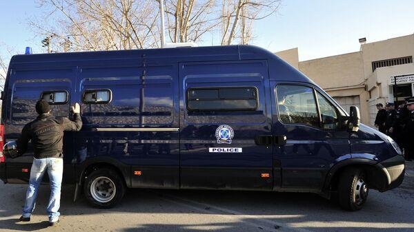 Автомобиль греческой полиции
