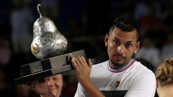 Ник Кирьос - победитель теннисного турнира в Акапулько