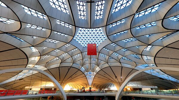 Новый аэропорт Пекина, открывающийся в 2019 году