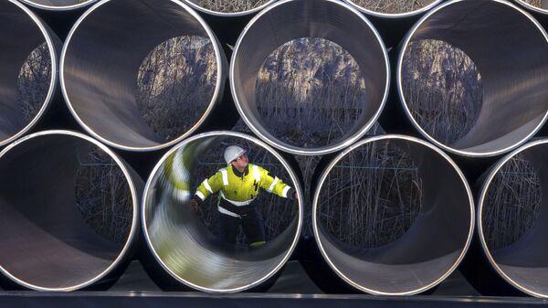 Трубы для строительства газопровода Nord Stream 2