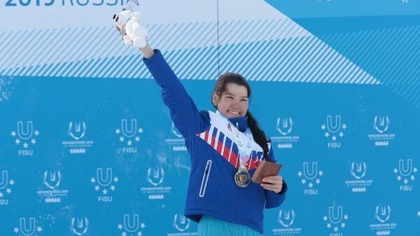 Жамбалова завоевала четвертую золотую медаль на Универсиаде в Красноярске
