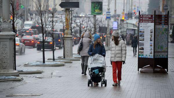 Прохожие в Минске