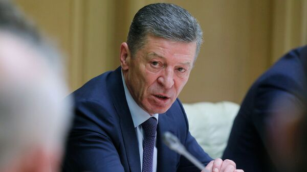 Вице-премьер России Дмитрий Козак