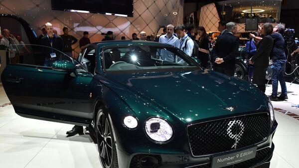Купе Bentley Continental GT Number 9 на Международном Женевском автосалоне 2019