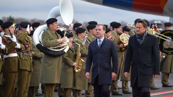 Официальный визит премьер-министра РФ Дмитрия Медведева в Великое Герцогство Люксембург