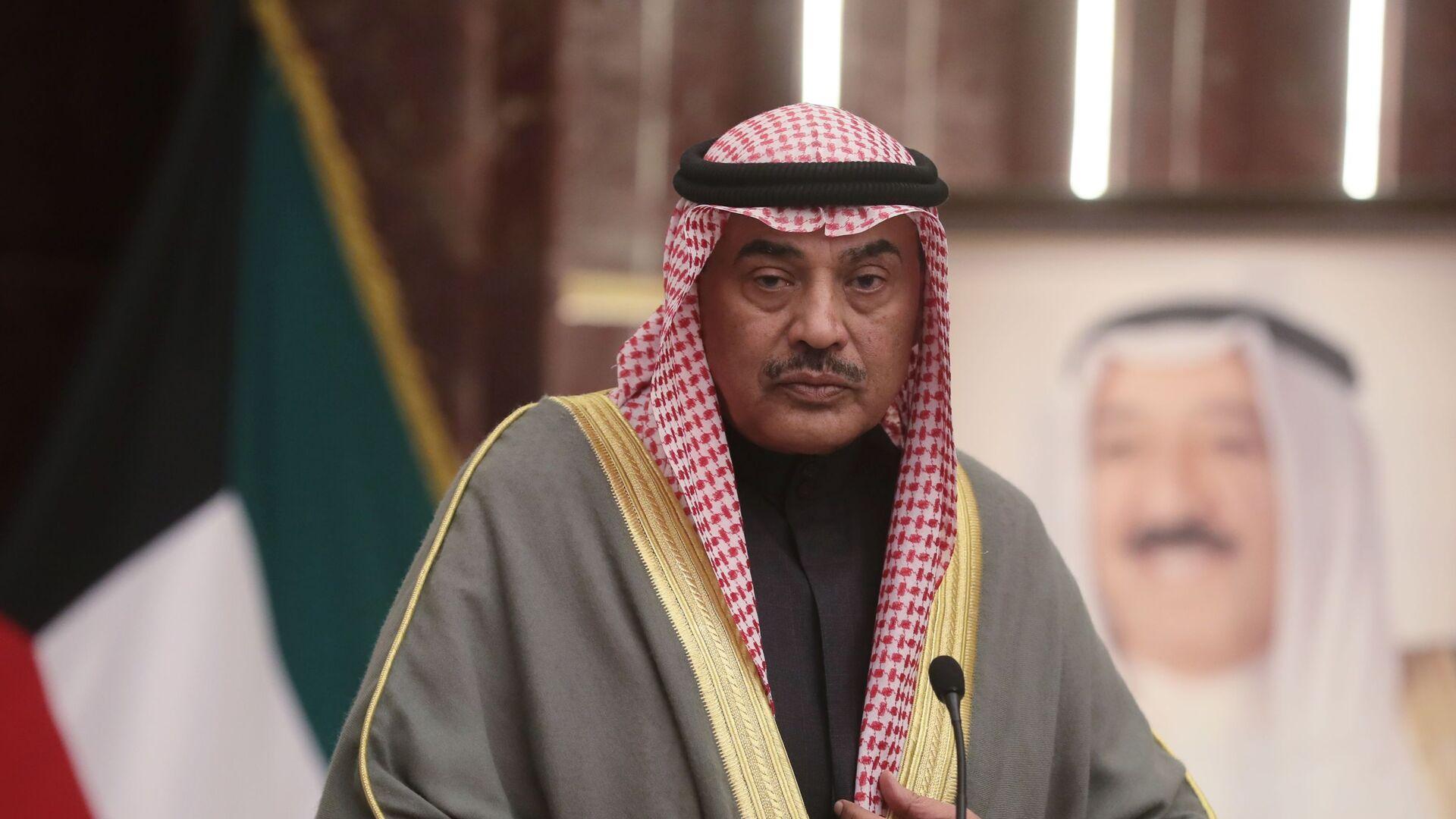 Заместитель председателя совета министров Кувейта, министр иностранных дел Кувейта шейх Сабах Аль-Халед Ас-Сабах - РИА Новости, 1920, 05.09.2020