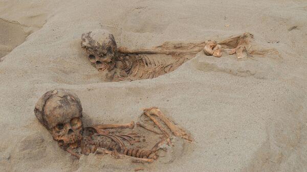 Останки мумий детей, убитых в ходе масштабного массового жертвоприношения в середине 15 века