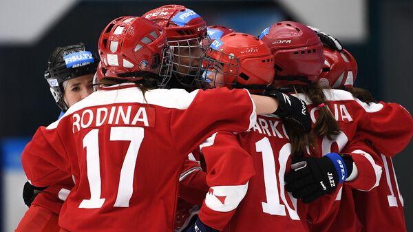 Универсиада-2019. Хоккей с мячом. Женщины. Матч США - Россия