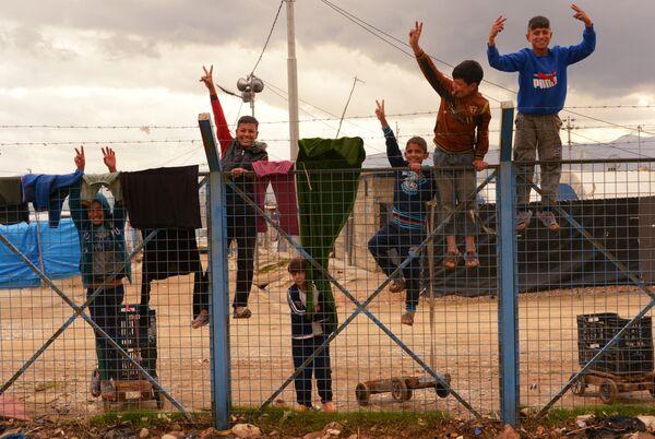Лагерь беженцев в Ираке