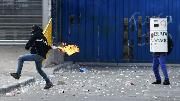 Протесты в Гондурасе. Архивное фото