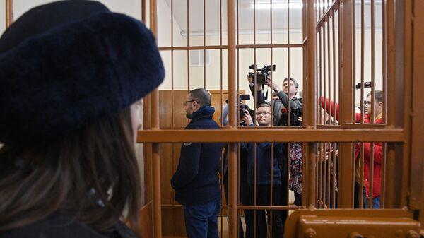 Бывший первый замглавы Росгеологии Руслан Горринг на заседании суда. 9 марта 2019