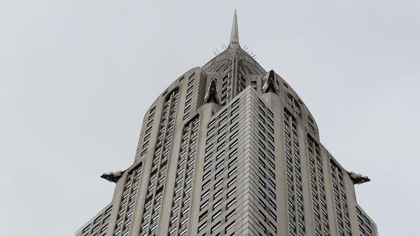 Небоскреб Крайслер-билдинг в Нью-Йорке