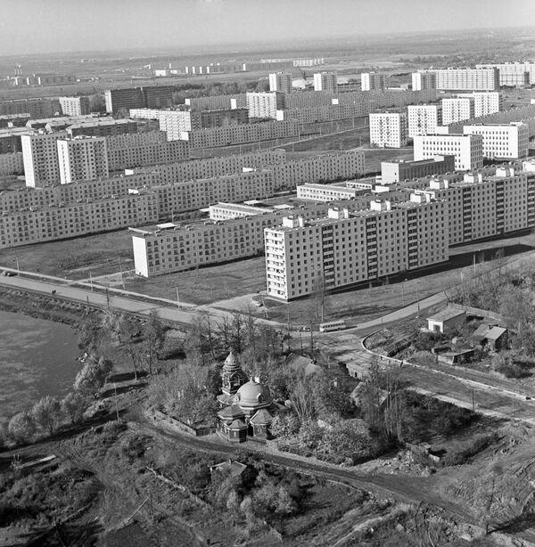 Панорама 2-го квартала жилого массива Химки-Ховрино