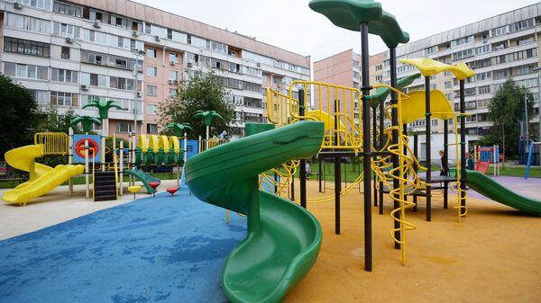 Детская игровая площадка в Москве