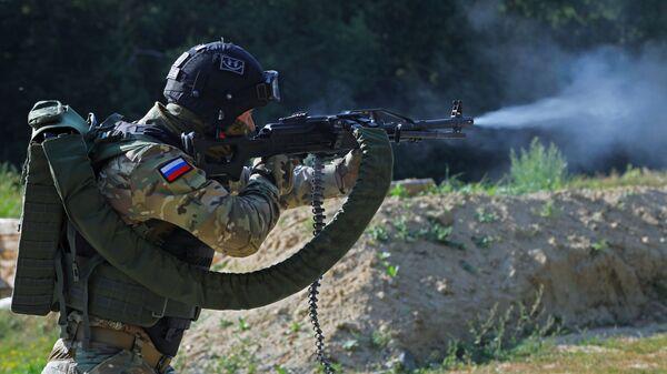 Учения отряда ОМОН управления Росгвардии по Белгородской области