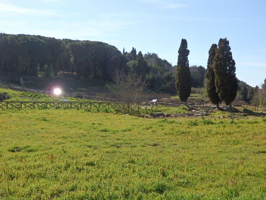 Тоскана. Популония. Акрополь