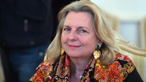Министр иностранных дел Австрийской Республики Карин Кнайсль