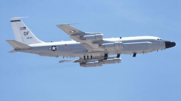 Самолет радиоэлектронной разведки ВВС США Boeing RC-135V Rivet Joint