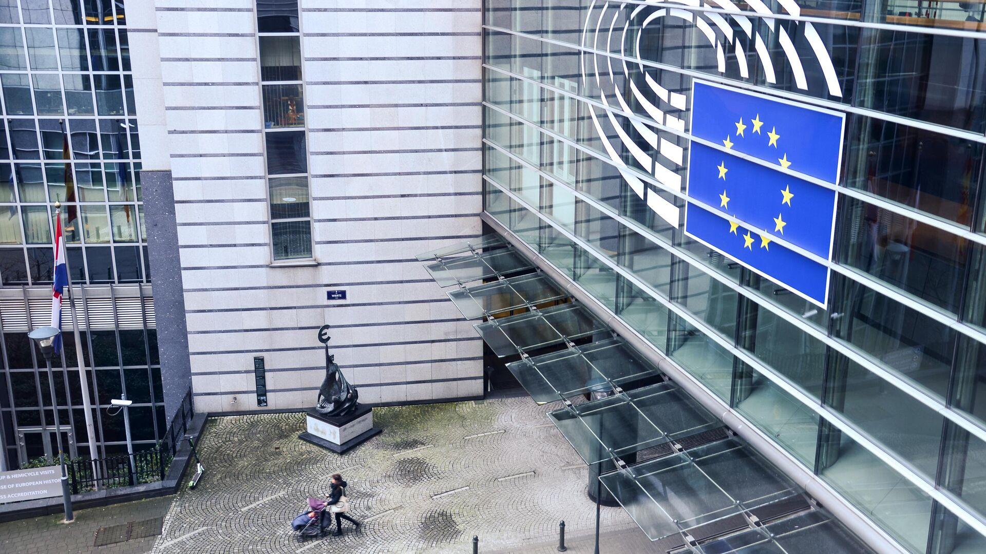 Здание Европарламента в Брюсселе - РИА Новости, 1920, 21.01.2021