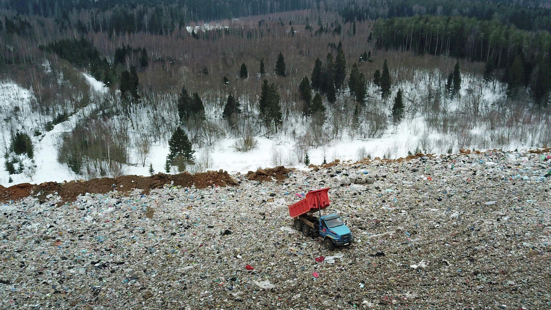 Полигон твердых бытовых отходов  - РИА Новости, 1920, 24.02.2021