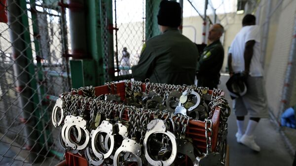 Камеры смертников в тюрьме Сен-Квентин в Калифорнии