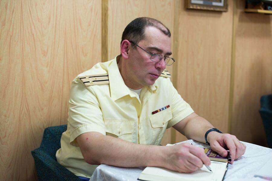 Кают-компания подводного крейсера Юрий Долгорукий