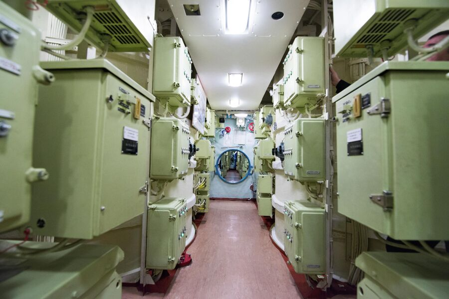 Ракетный отсек подводного крейсера Юрий Долгорукий