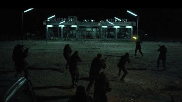 Кадр из трейлера фильма Балканский рубеж