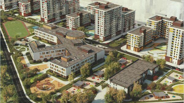 Проект школы на 1300 мест