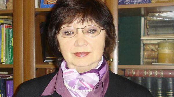 Ведущий научный сотрудник Института космических исследований Людмила Засова