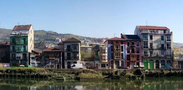 Район Сорросаурре (Zorrozaurre) в Бильбао