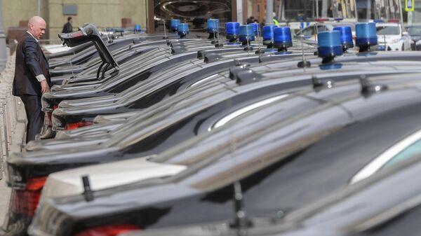 Автомобили членов правительства РФ
