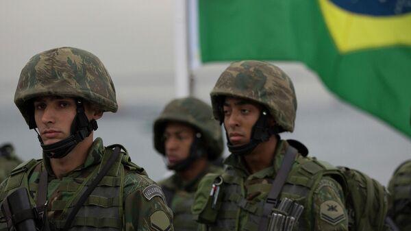 Бразильские военнослужащие