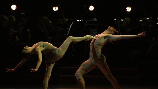 Прима-балерина Большого театра Светлана Захарова и солист балета Большого театра Якопо Тисси