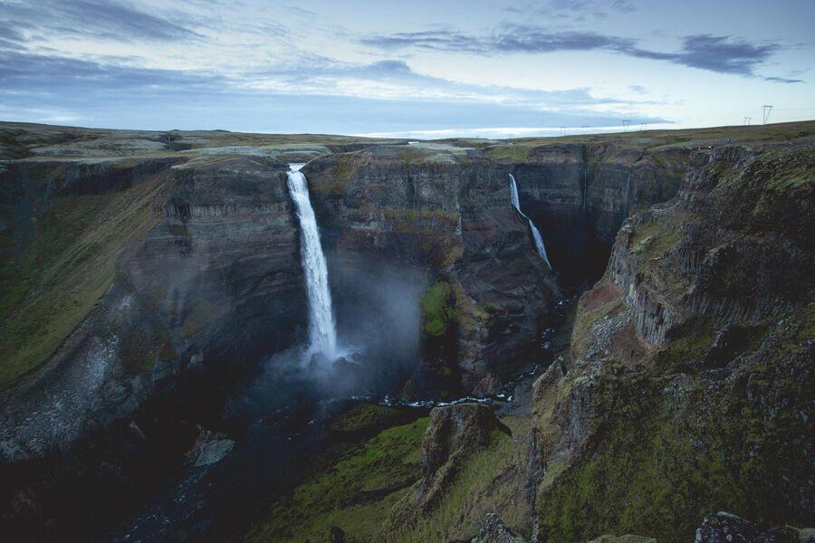 Исландия, водопад Хауифосс