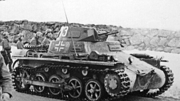 Немецкий танк PzKpfw I