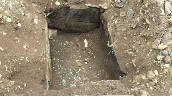 На месте раскопок под пабом в графстве Нортумберленд, Великобритания