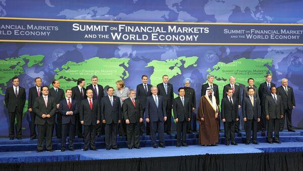 Саммит двадцатки в Вашингтоне