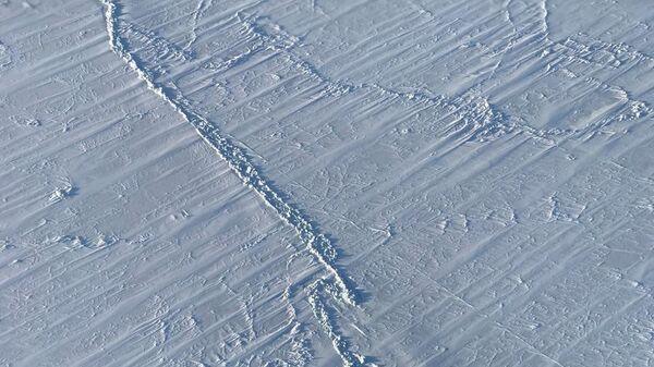 Площадь ледяного покрова в Арктике в марте 2018 года