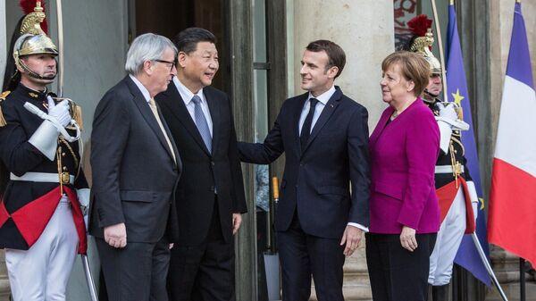Встреча лидеров стран ЕС и Китая в Париже. 26 марта 2019