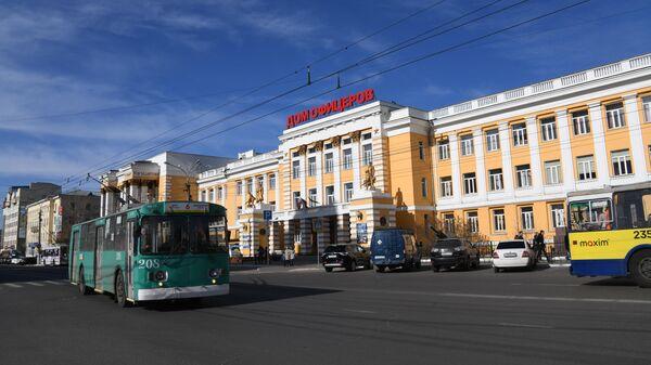 Троллейбус на улицах Читы. Архивное фото