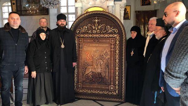 Архиепископ Феофилакт посетил христианские святыни в сирийских Маалюле и Саеднайе