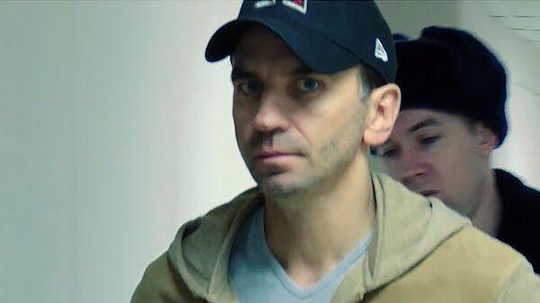 Михаил Абызов после задержания