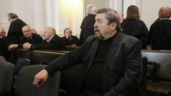 Геннадий Иванов во время судебного заседания в Вильнюсе. 27 марта 2019
