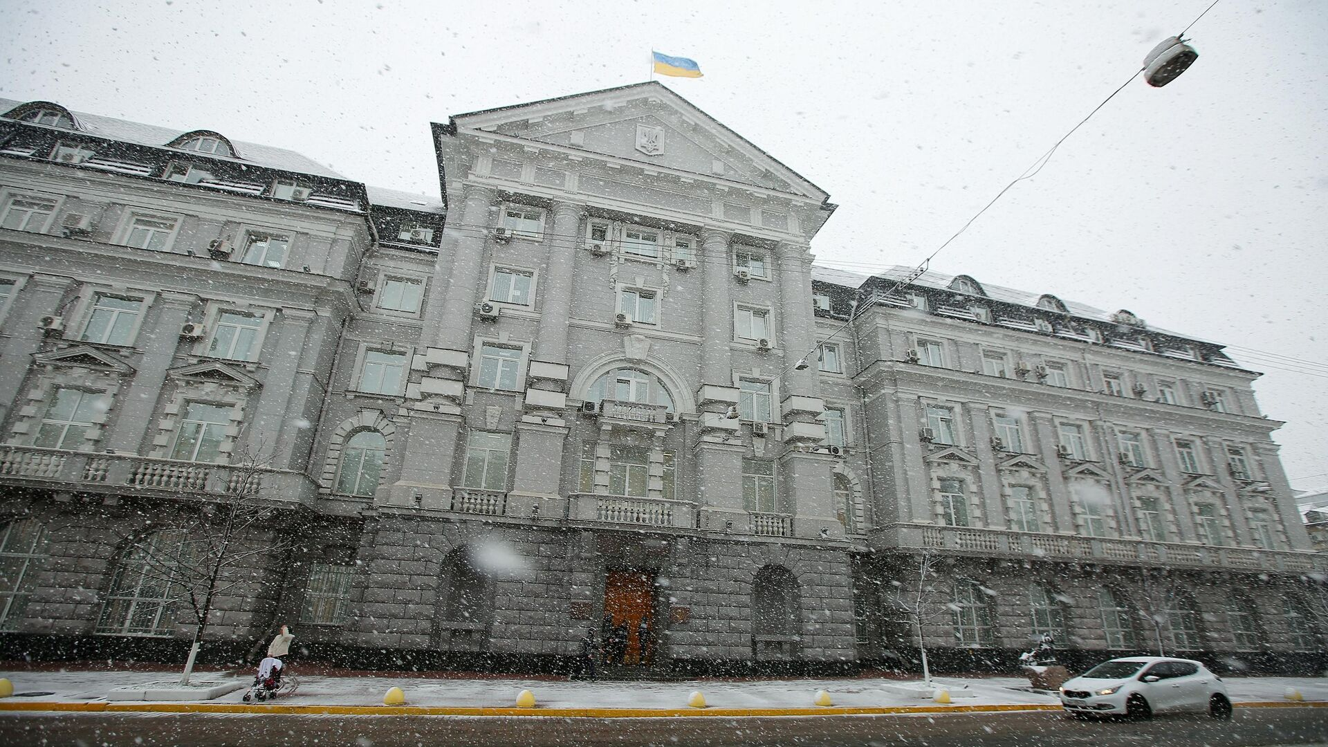 Здание Службы безопасности Украины (СБУ) в Киеве - РИА Новости, 1920, 25.02.2021