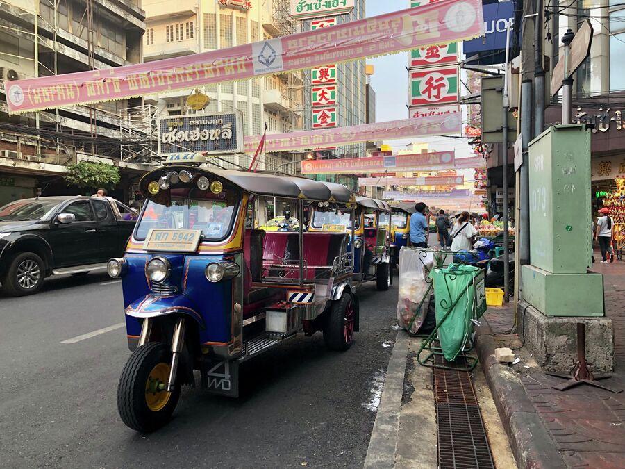 Тук-туки, Бангкок, Таиланд